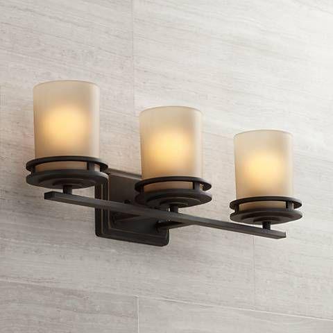 Hendrik Bronze 24 Wide Bathroom Light Fixture In 2019 Decorating