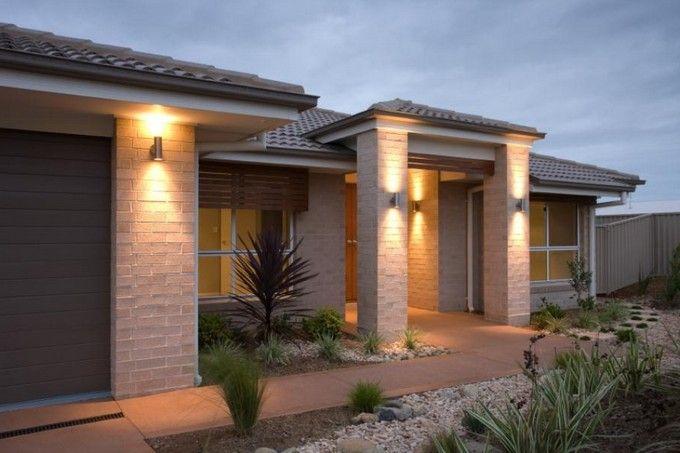 Modern Exterior Lighting Fixtures To Replace Every Lil Light On Columns Modern Exterior Lighting Modern Exterior House Exterior