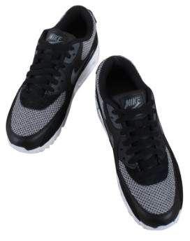 39c4703c12 Nike 537384-075 Men Air Max 90 Essential Black/Dark Grey-Dark Grey-Chro