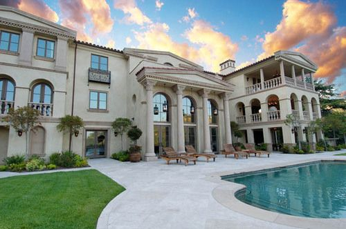 Fashion Girl Home House Luxury Pool Mansions My Dream Home Dream Mansion