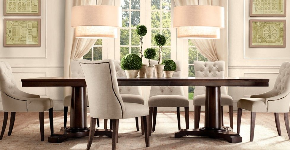 Casual dining room centerpiece ideas portman listed in Pretty dining rooms