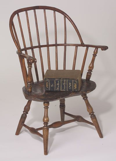 A great child size Delaware Valley antique windsor chair with perfect form  and proportions. Probably