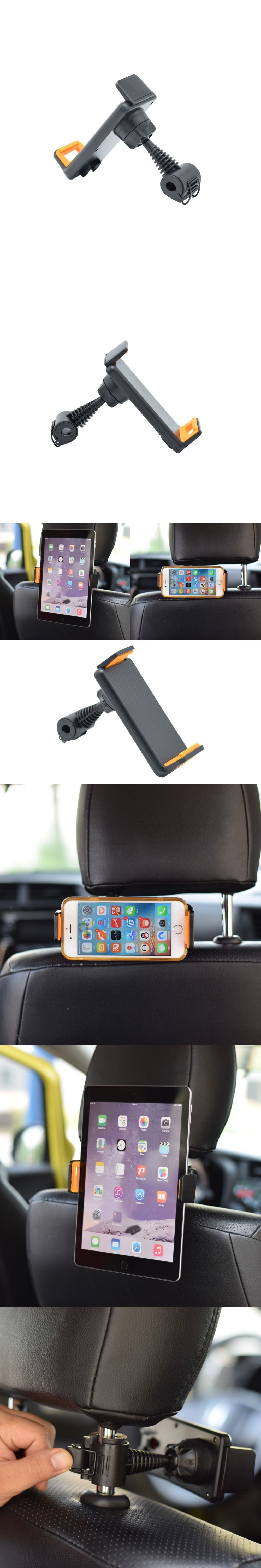 Universal 360 Degree Rotating Car Back Seat Headrest Mount