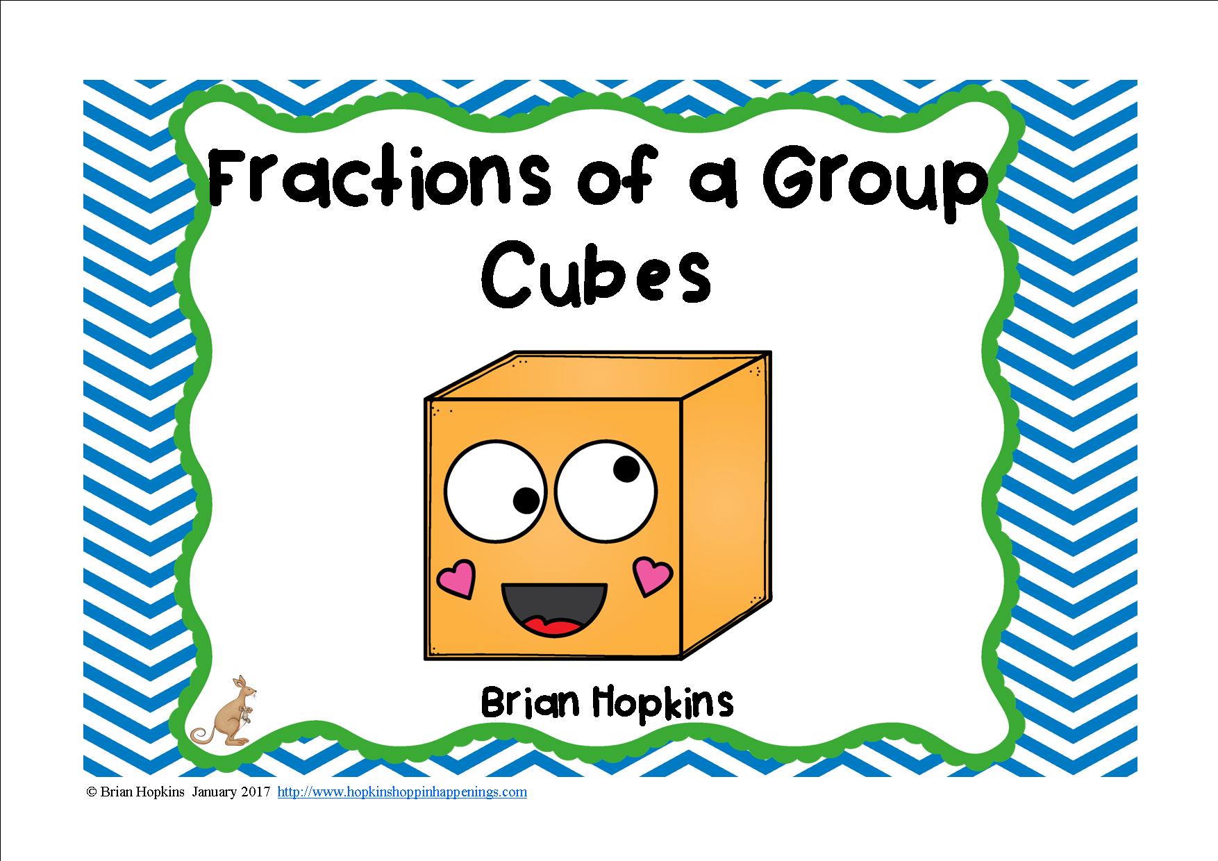 Unifix Cubes Fractions Of A Group