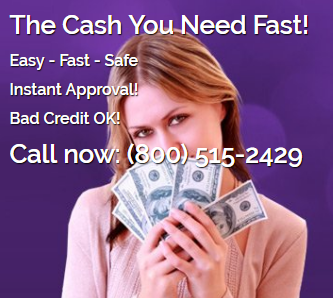 $515 Fast Payday Loans no Credit Check