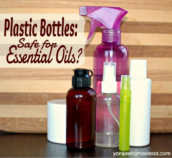 Are Plastic Bottles Safe For Essential Oils Essential