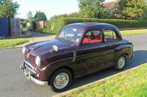1950s British Standard Motor Company Eight Car Clic Cute Style Design Fun
