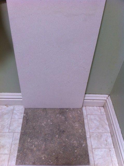 Hall Bath Tile Floor Haupistache 12 Pistache Seagrass Limestone