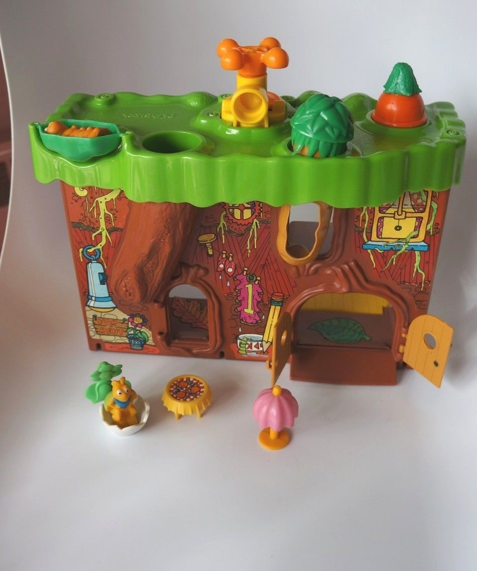 """Playskool """"Bug World"""" playset and figures"""
