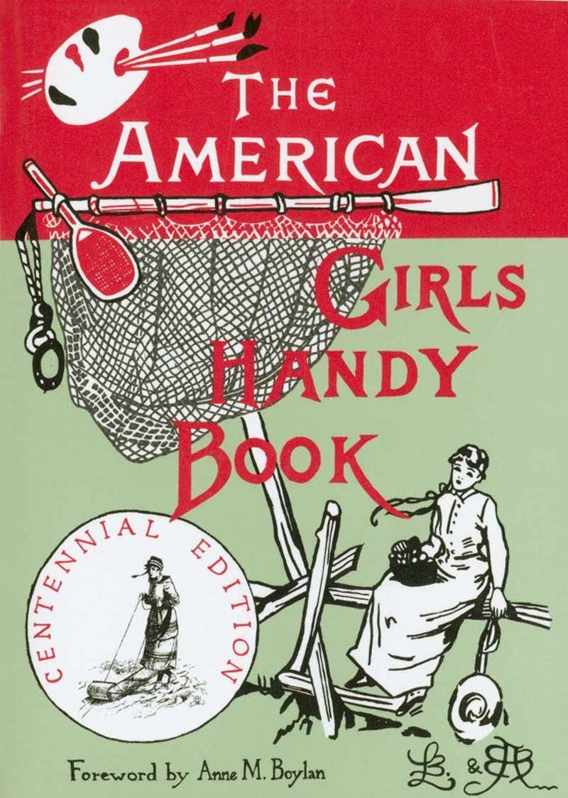 The American Girl's Handybook - first saw this on our trip to the redwoods.  Would be such a cute book for a daughter one day!