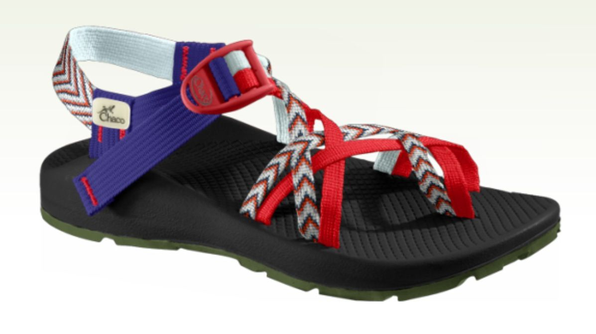 2cfe1493ed02 Red white and blue chacos