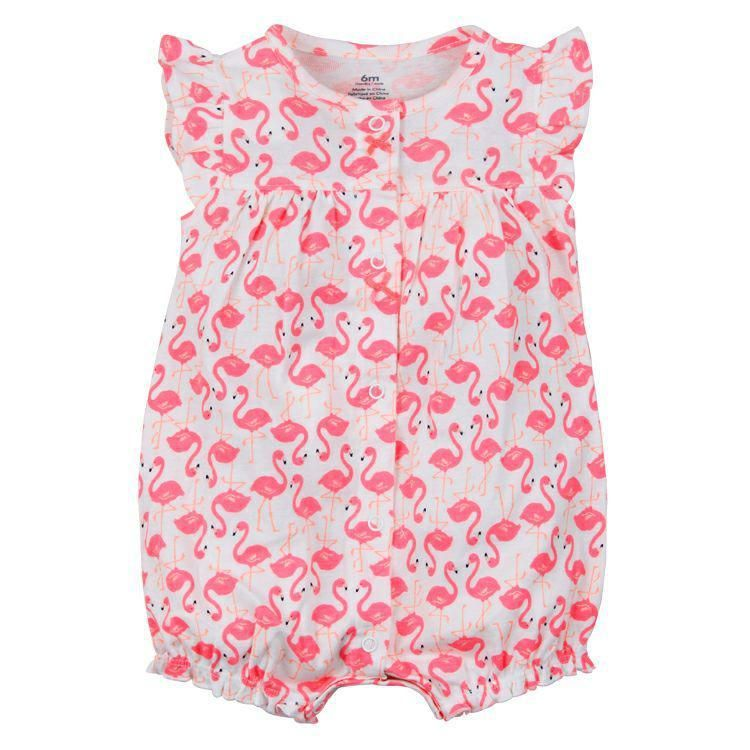 0b662aade83a Baby Girls Rompers Summer Fashion Short Sleeve Baby Clothing Toddler ...