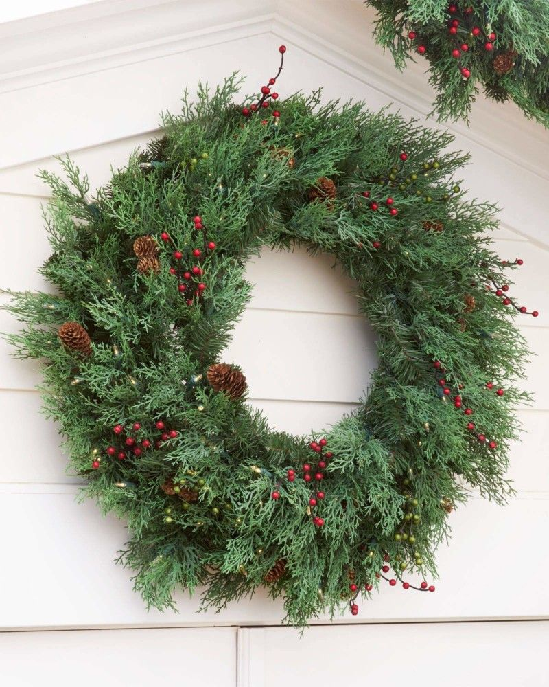 43 Interesting Christmas Decorations On Sale Christmas Decorations Sale Wreaths And Garlands Wreath Decor