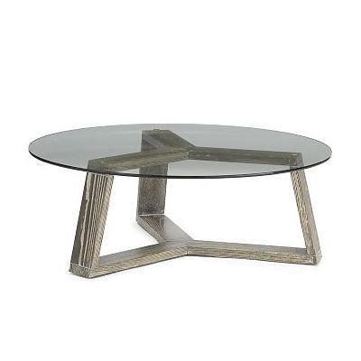 West Elm Ion Round Glass Coffee Table By West Elm 299 Round Coffee Table Modern Coffee Table Contemporary Coffee Table