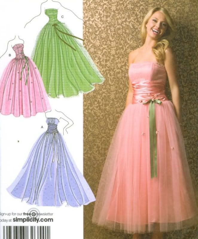 S3878 Strapless tulle prom evening party bridal dress ballgown ...