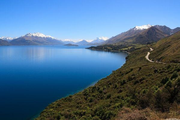 Lake Wakatipu: Queenstown, New Zealand