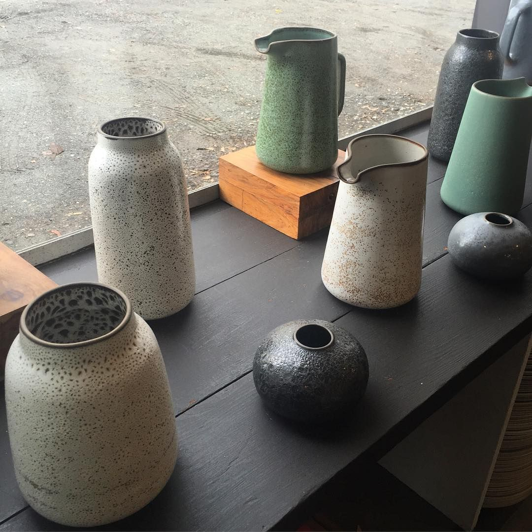 Some studio beauties from the Heath studio with @tungchiang  (at Heath Ceramics)