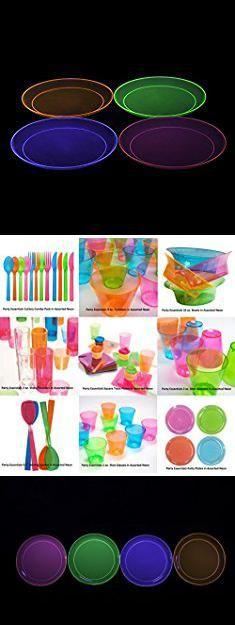 Reusable Plastic Dinner Plates. Party Essentials Hard Plastic 10.25-Inch Party/Dinner Plates & Reusable Plastic Dinner Plates. Party Essentials Hard Plastic 10.25 ...