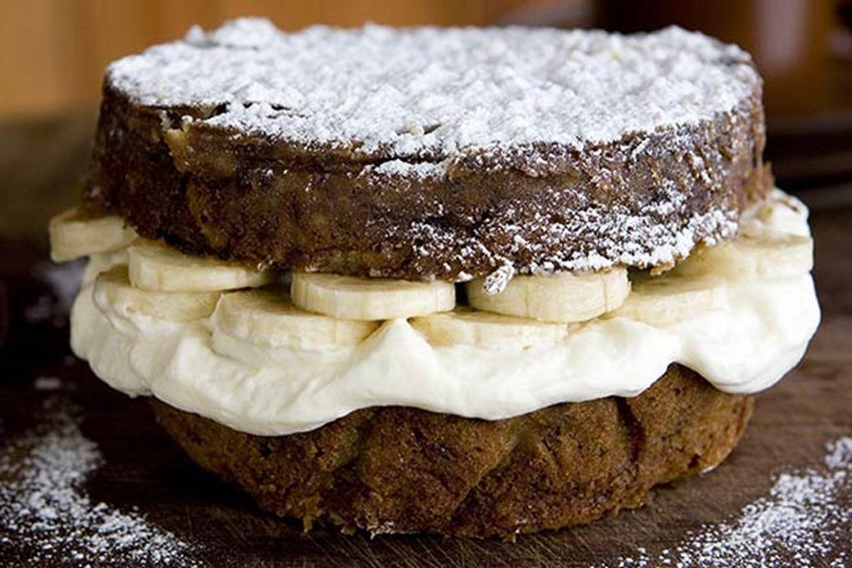 Banana and sour cream cake nz herald recipe dessert