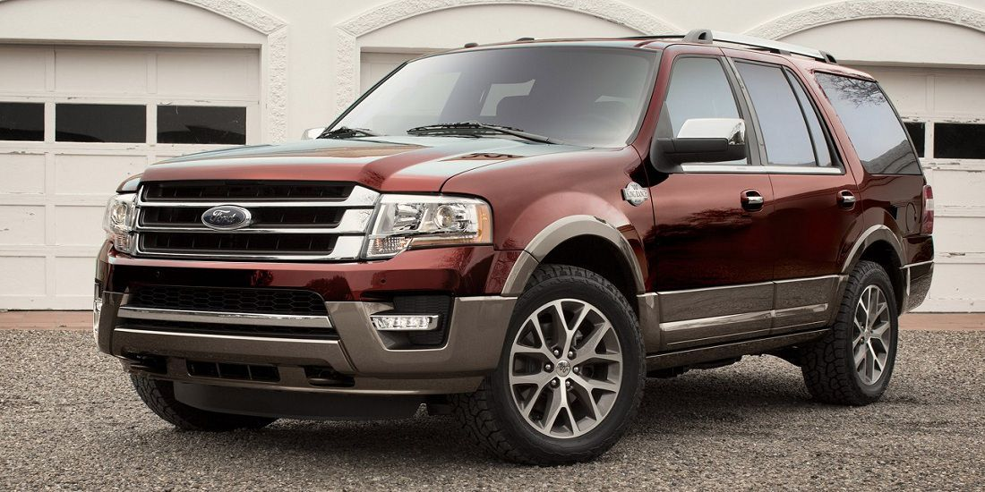 2017 Ford Expedition with V6 Engine Ford expedition