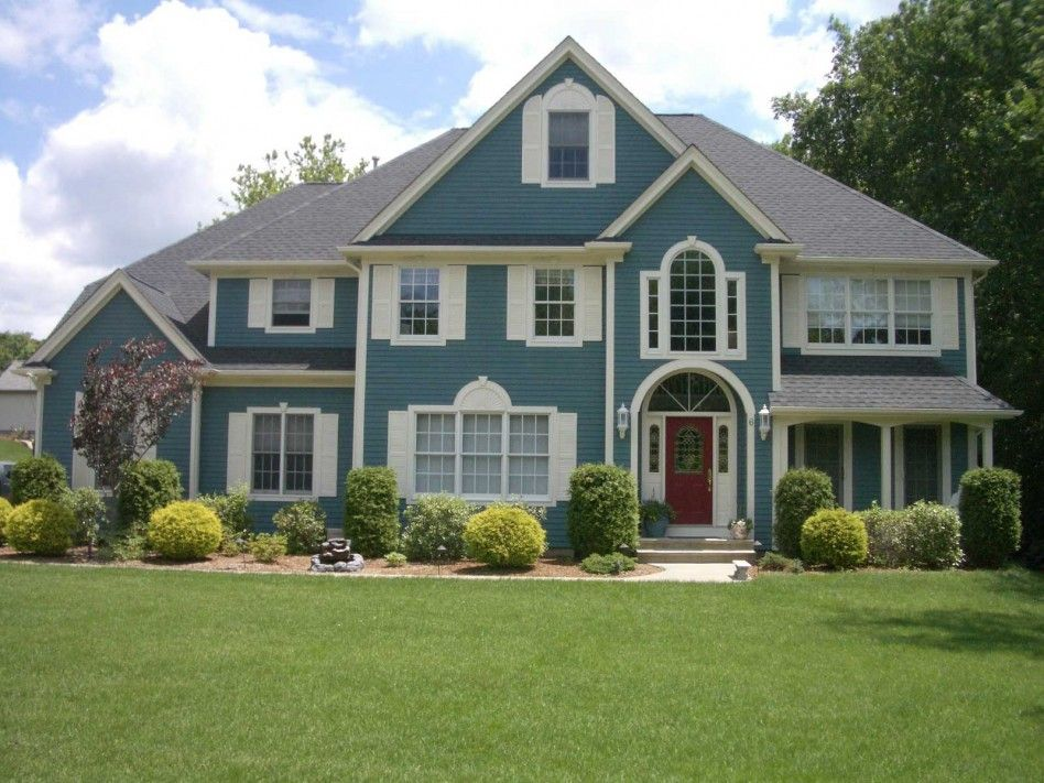 exterior the paint schemes design beautify outer house mighty blue color combinations for small houses in india with brown roof homes