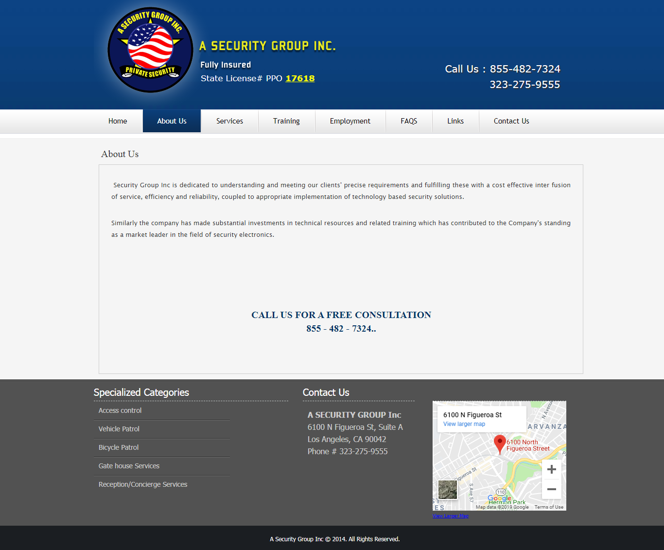 Security group Inc. is dedicated efficiency and