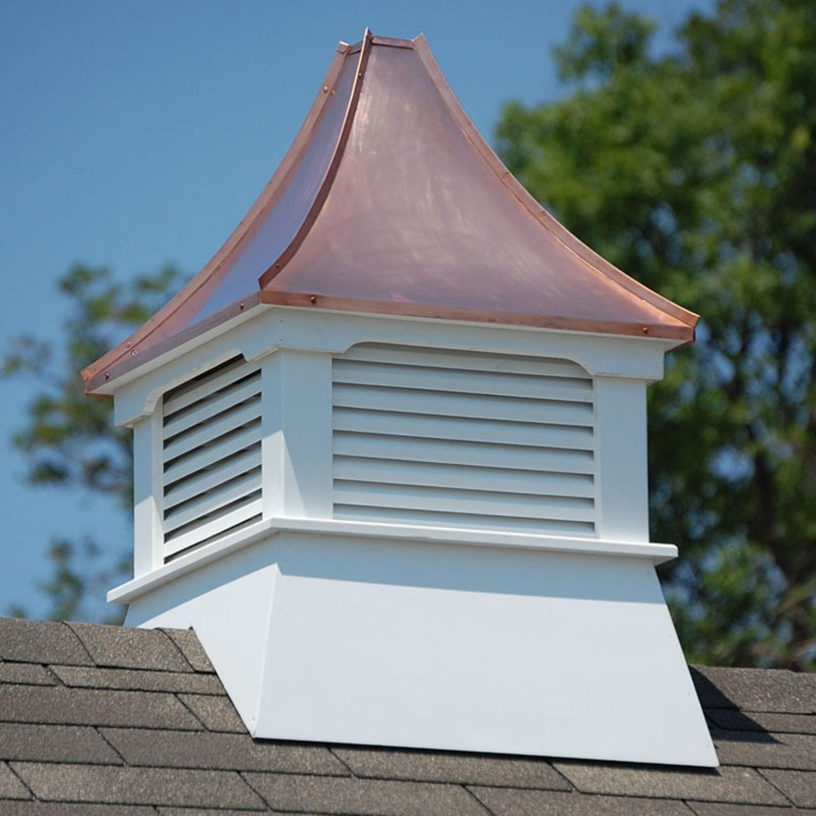 Accentua Olympia Cupola Copper roof, Cupolas, Roof colors