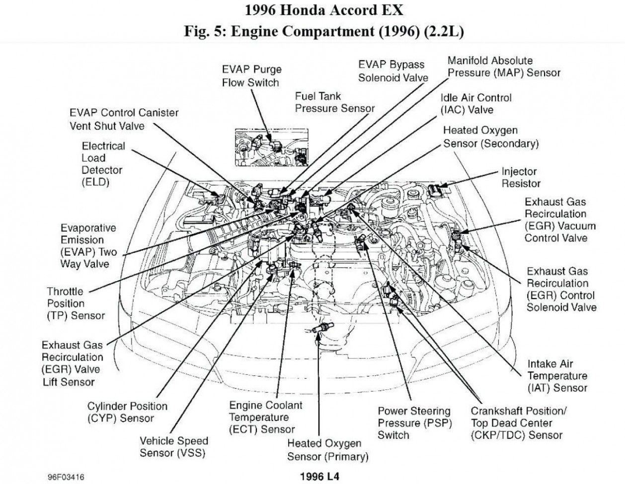 4 Honda Accord Ex Engine Diagram Di