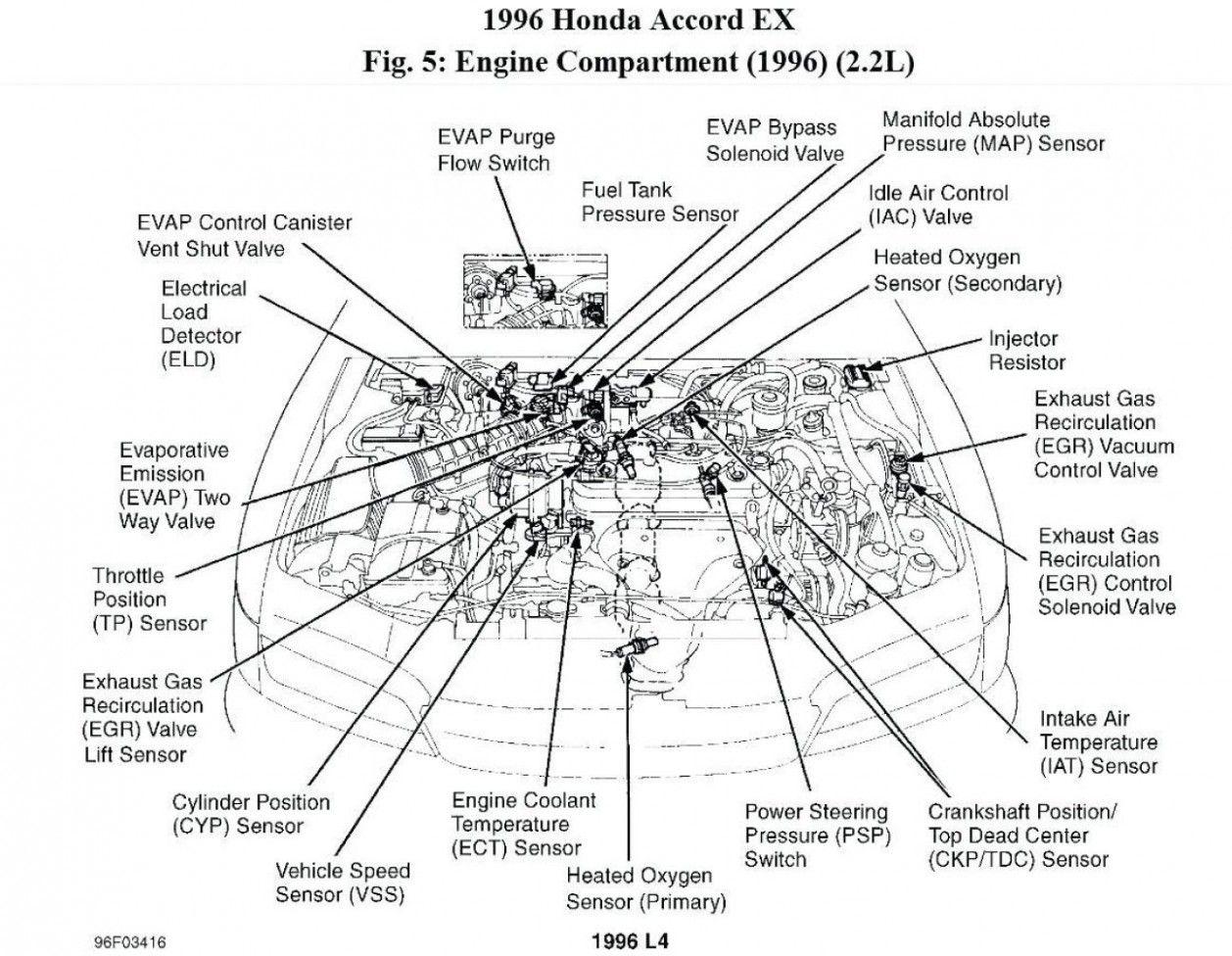 4 Honda Accord Ex Engine Diagram