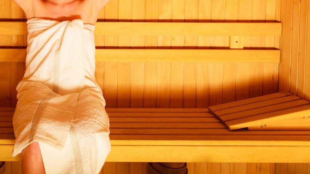 Enjoy some time in a sauna before getting back to work