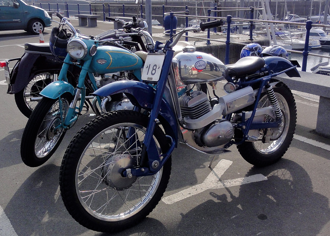 1966 Greeves 250 Trials with 250cc Villiers Single Cylinder