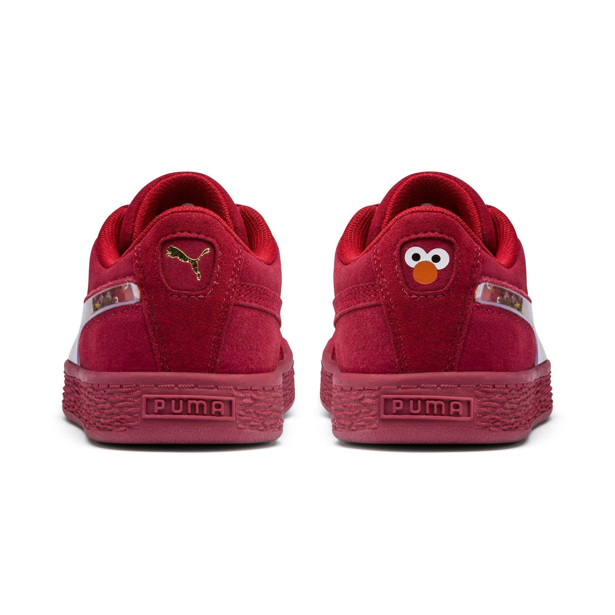 PUMA Chaussure Basket Rue Sésame 50 Suede Statement Kids