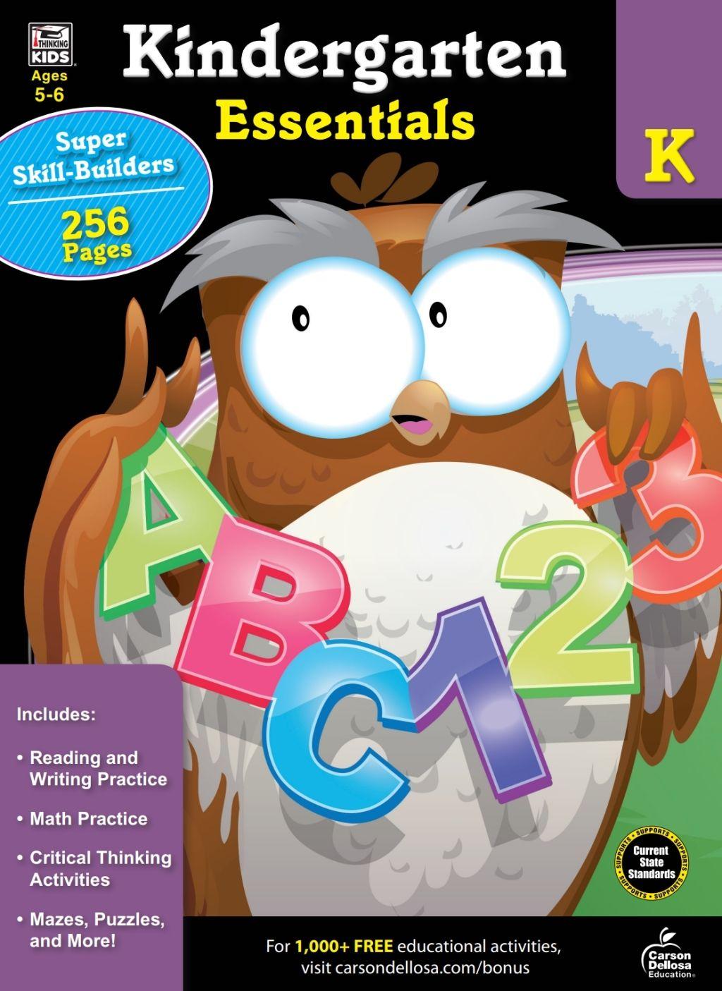 Kindergarten Essentials Ebook In