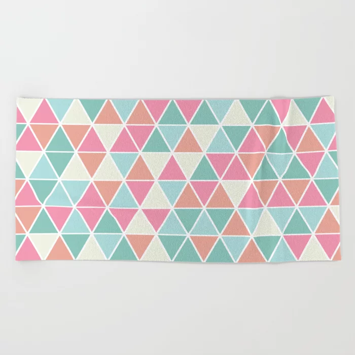 Pink And Green Beach Towel Google Search With Images Green
