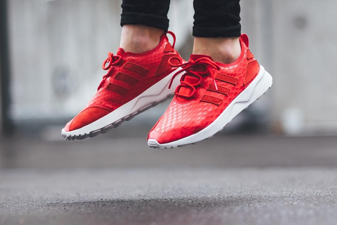 Adidas ZX Flux ADV Verve - Lush Red available now @titoloshop by titoloshop #SoleInsider