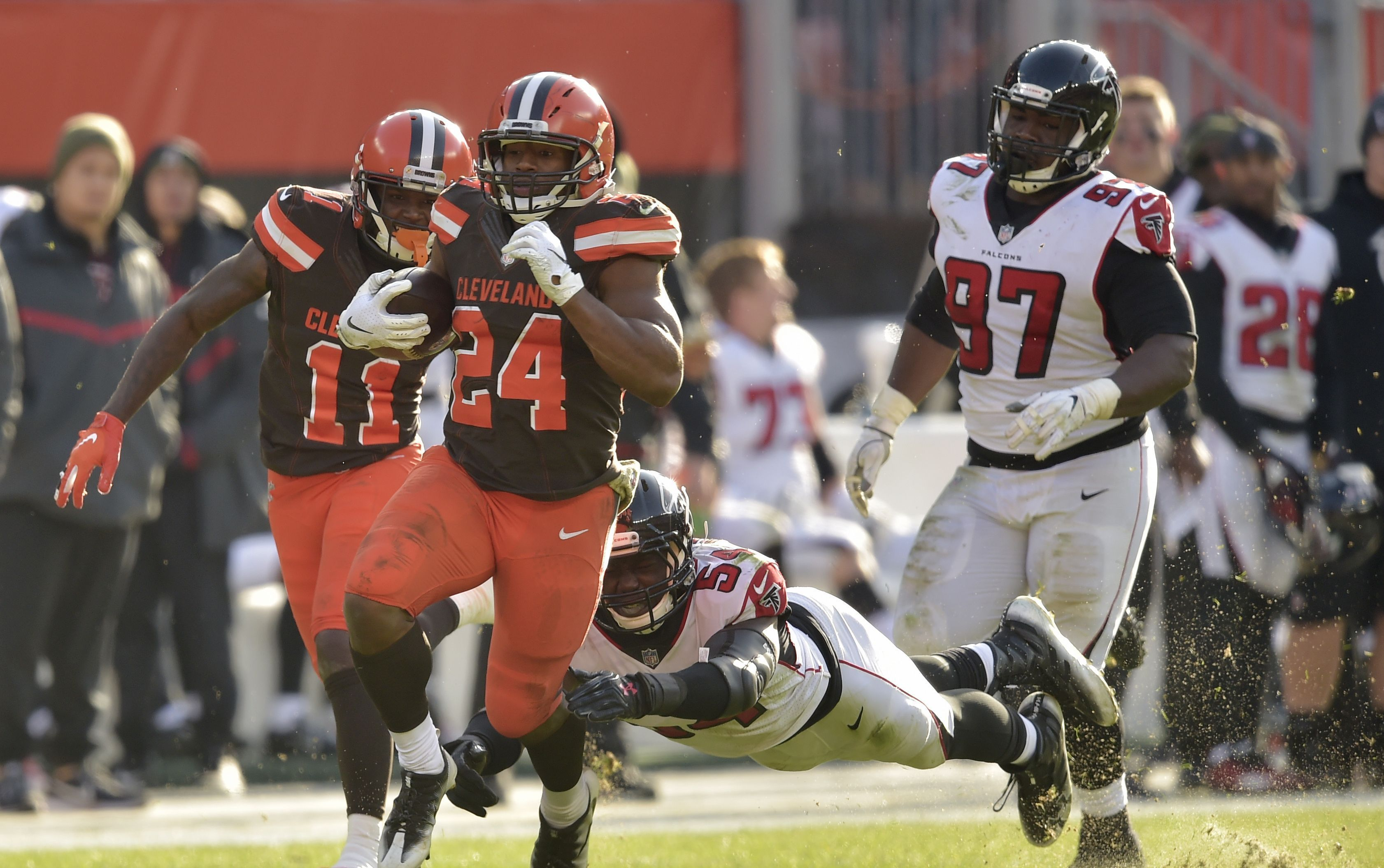 Week 11 Fantasy Football survival guide Cleveland browns