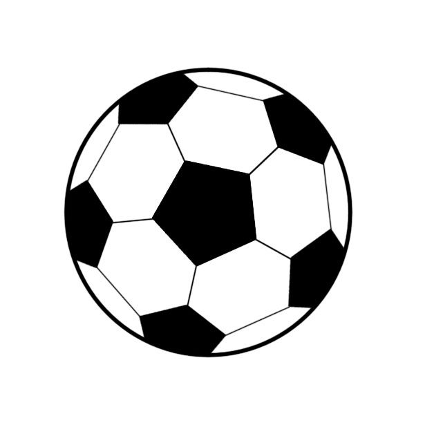 Dessiner un ballon de football anniversaire enfants ballon de football anniversaire - Coloriage ballon foot ...