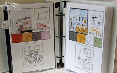 scrapbook journal from Patter