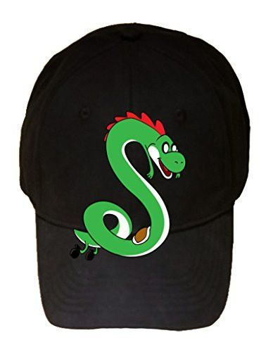 'Plumbing Time' Snake Creature Character Funny Video Game & TV Show Cartoon Parody - 100% Cotton Adjustable Hat