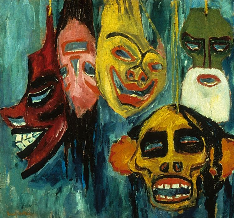 Expressionism And Mask Making - Lessons - Tes Teach