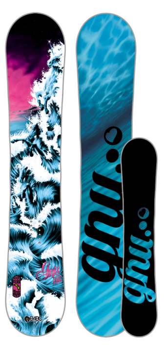 fa1d8c3cf669 Gnu snowboard inspired by The Last Unicorn