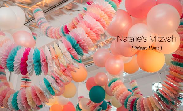 Natalie's Bat Mitzvah, Private Home | Details Details - Wedding and Event Planning