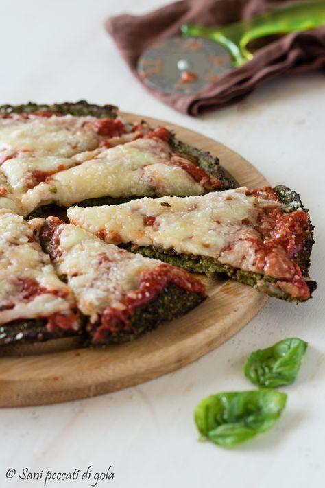 Pizza di broccoli light | Senza lievito, sana, gustosa e genuina | Sani peccati di gola