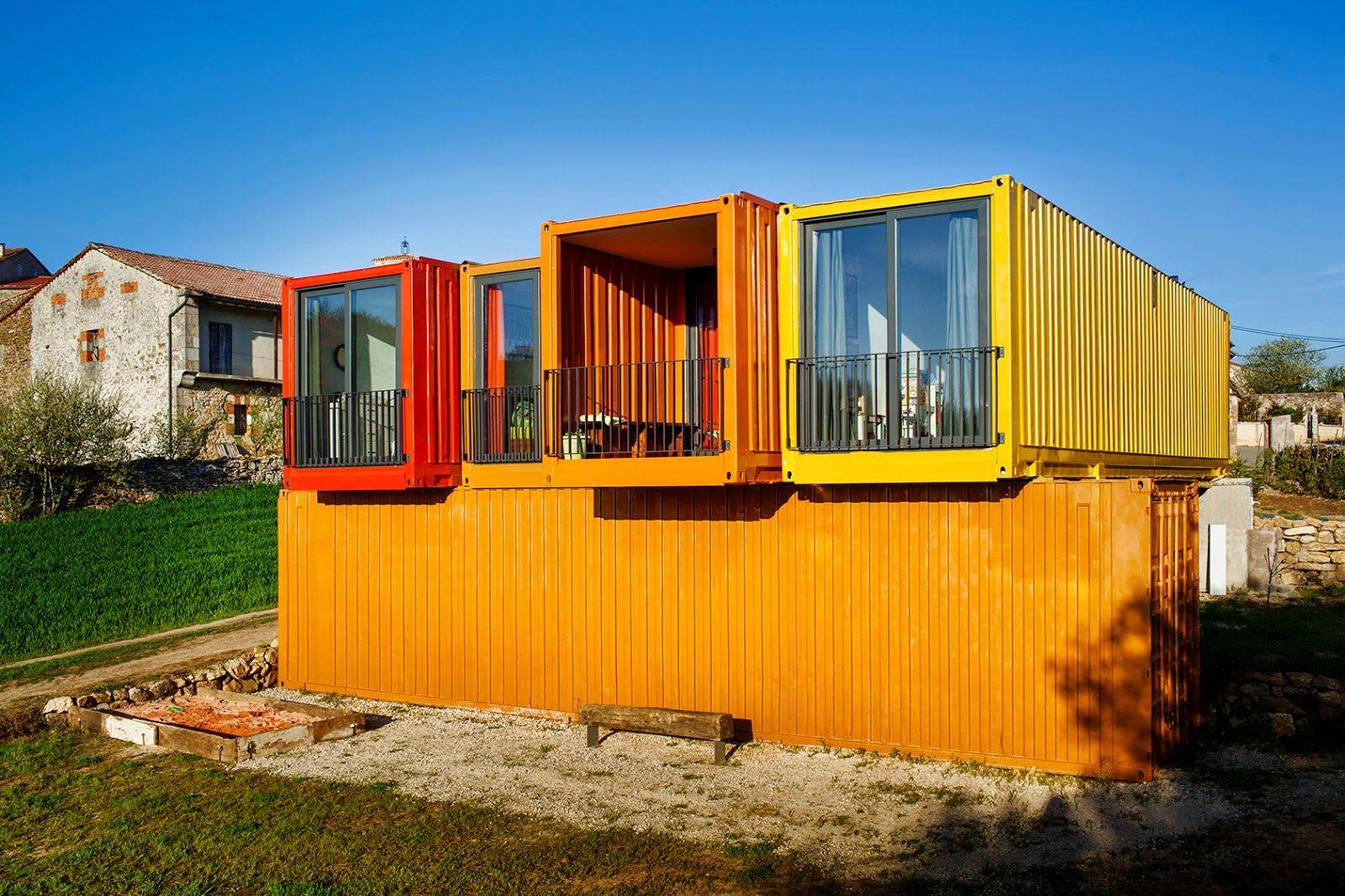La contenedora galeria vivienda container pinterest - Contenedores maritimos para vivienda ...