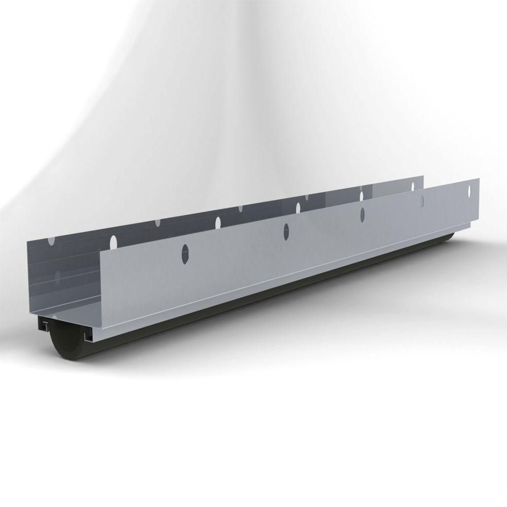 L I F Industries Door U Bottom Seal For Doors Up To 36 In Wide