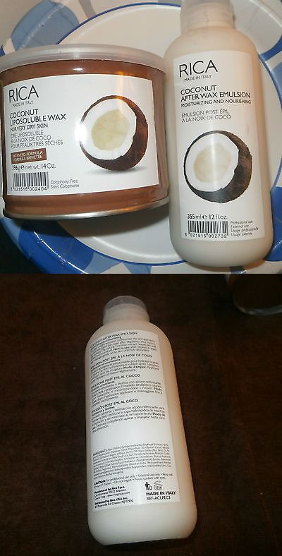 Hair Removal Creams and Sprays: 2 (1)Rica Coconut Wax~ Like