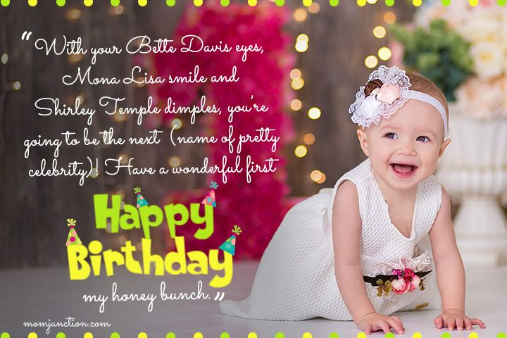 106 Wonderful 1st Birthday Wishes And Messages For Babies In 2020 1st Birthday Wishes First Birthday Wishes Birthday Wishes Messages