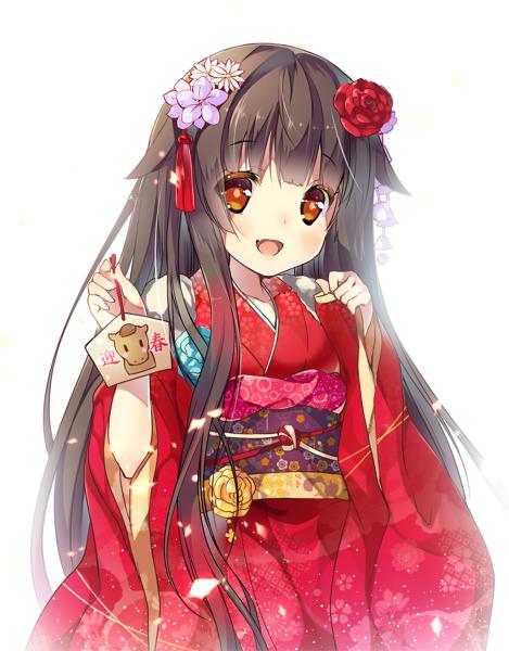 Anime Characters Kimono : Cute anime art pinterest