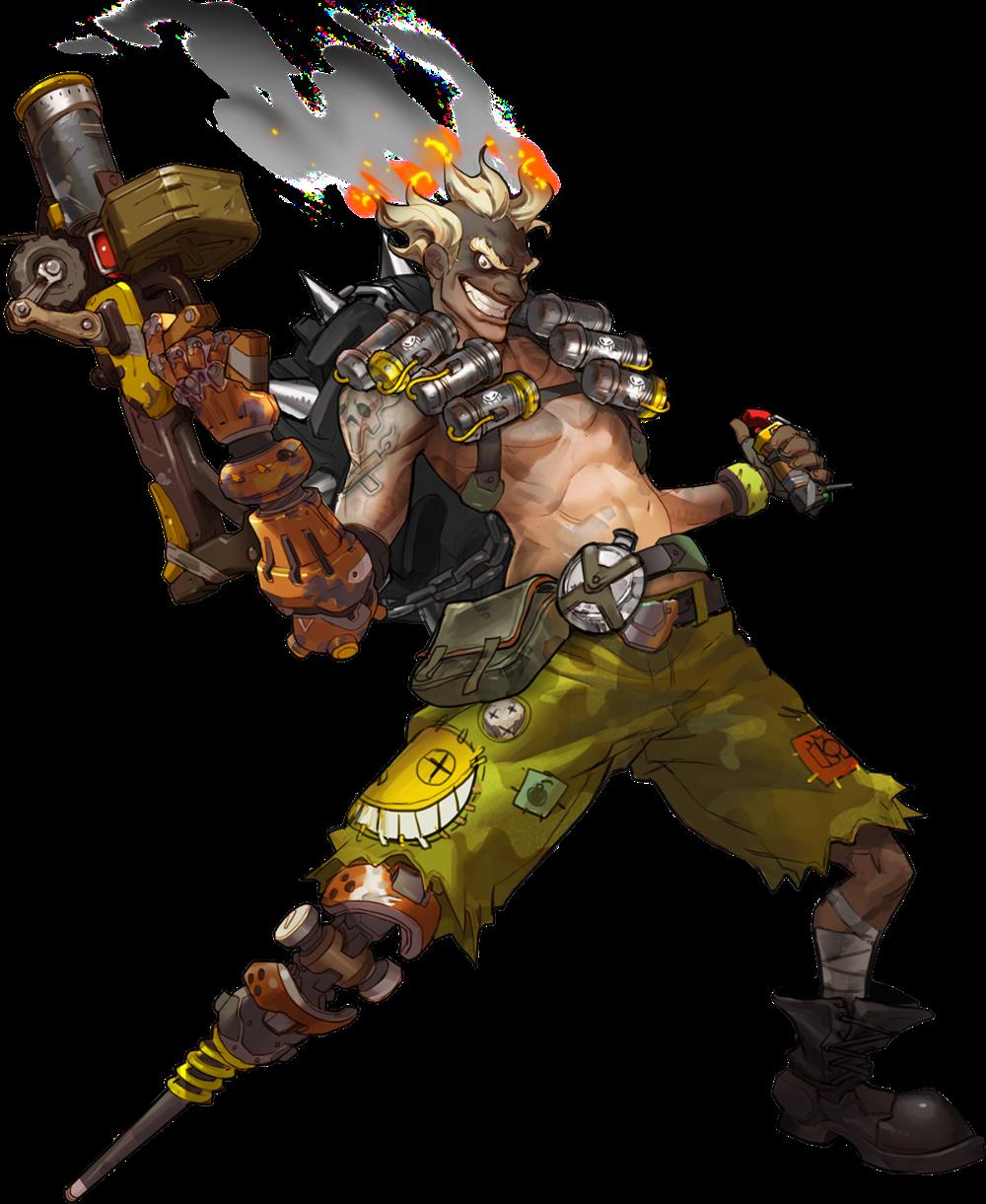 Junkrat Overwatch Wiki Png File Concept Art Characters Overwatch Character Concept