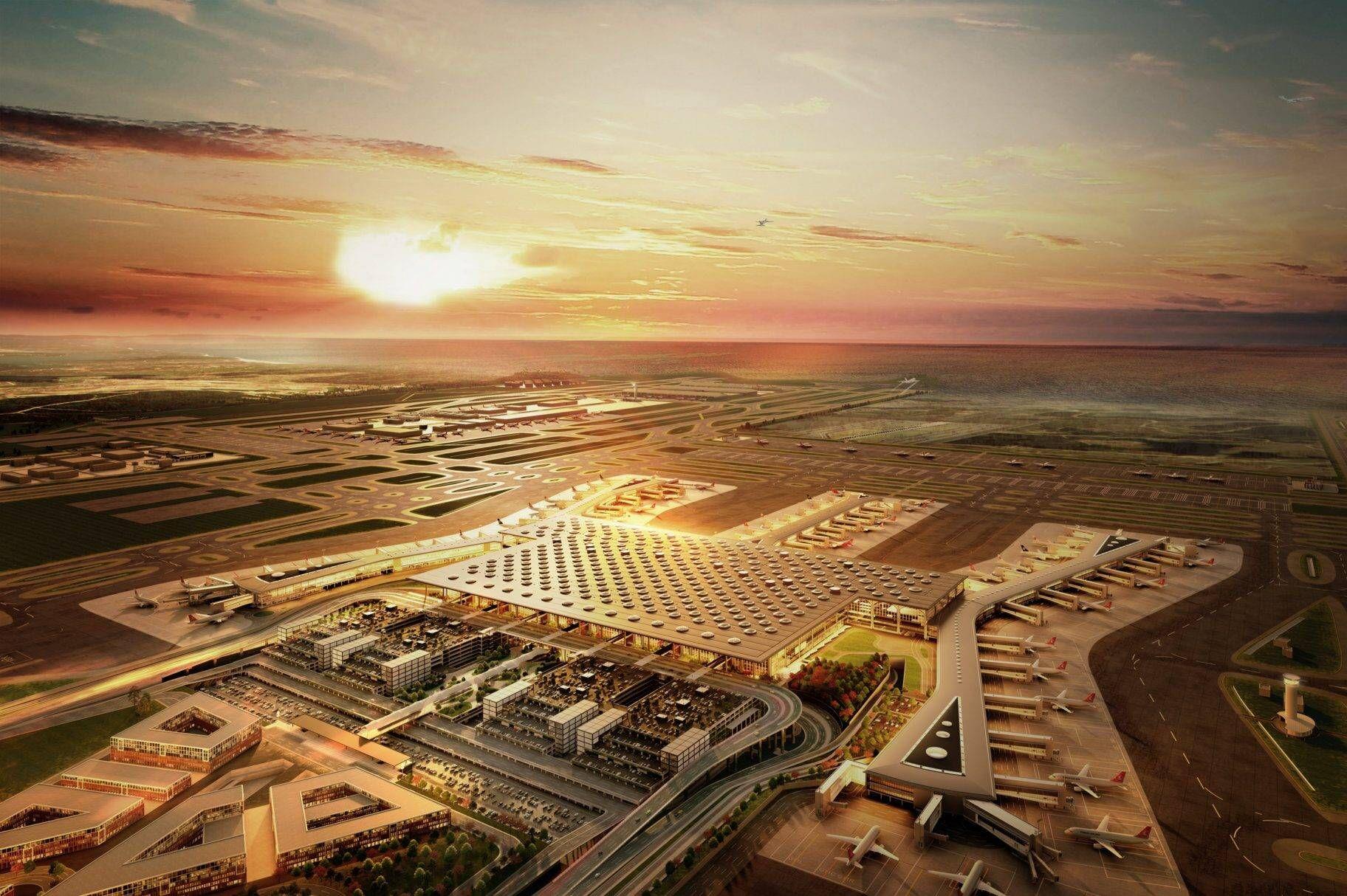 50 000 Tonnen Material wandern vom AtatürkAirport zum